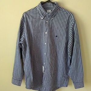 NWT Brooks Brothers Madison Button Front Shirt M